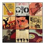 Papel Scrapbook Litocart 30,5x30,5 LSCE-021 Música