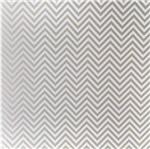 Papel Scrapbook Litocart 30,5x30,5 LSCPL-023 Perolizado Chevron Bronze