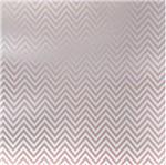 Papel Scrapbook Litocart 30,5x30,5 LSCPL-021 Perolizado Chevron Rosa