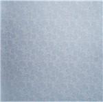 Papel Scrapbook Litocart 30,5x30,5 LSCPL-014 Perolizado Arabesco III Azul Escuro