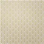 Papel Scrapbook Litocart 30,5x30,5 LSCPL-016 Perolizado Arabesco V Ouro