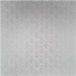 Papel Scrapbook Litocart 30,5x30,5 LSCPL-017 Perolizado Arabesco V Prata