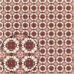 Papel Scrapbook Litocart Lsc-308 Simples 30,5x30,5cm Retrô Rosa e Vinho