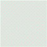 Papel Scrapbook Litocart Lsc-335 Simples 30,5x30,5cm Corações Rosas com Fundo Verde