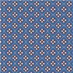 Papel Scrapbook Litocart Lsc-337 Simples 30,5x30,5cm Boias Salva-vidas com Fundo Azul