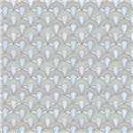 Papel Scrapbook Litocart Lsc-332 Simples 30,5x30,5cm Arco-íris