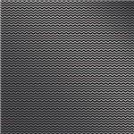 Papel Scrapbook Metalizada - SDF720 - Chevron Dourado FD Preto - Toke e Crie