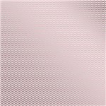 Papel Scrapbook Metalizada - SDF730 - Chevron Prateado FD Rosa - Toke e Crie