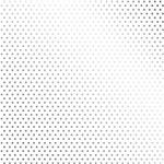 Papel Scrapbook Metalizada - SDF706 - Poá Prateado FD Branco - Toke e Crie