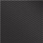 Papel Scrapbook Metalizada - SDF716 - Poá Prateado FD Preto - Toke e Crie