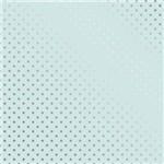 Papel Scrapbook Metalizada - SDF739 - Estrelas Prateado FD Azul - Toke e Crie