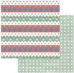 Papel Scrapbook Natal Litoarte 30,5x30,5 SDN-122 Papai Noel
