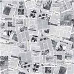 Papel Scrapbook Simples Jornal LSC-184 - Litocart