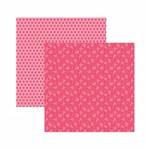 Papel Scrapbook Toke e Crie 30,5x30,5 KFSB554 Pink Floral