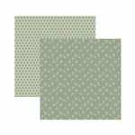 Papel Scrapbook Toke e Crie 30,5x30,5 KFSB561 Fendi Floral
