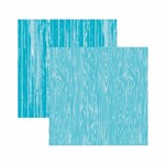 Papel Scrapbook Toke e Crie 30,5x30,5 KFSB579 Azul Bebê Madeira