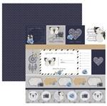 Papel Scrapbook Toke e Crie 30,5x30,5 SDF852 Aprecie a Jornada Cartões
