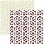 Papel Scrapbook Toke e Crie Sbd12 30,5x30,5cm Minnie Mouse Divertido