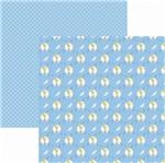 Papel Scrapbook Toke e Crie Sbd15 30,5x30,5cm Princesas Cinderela