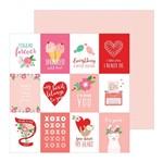 Papel Scrapbook WER312 30,5x30,5 Pebbles Cards