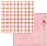 Papel Scrapbook WER270 30,5x30,5 Bo Bunny Poá