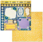 Papel Scrapbook WER279 30,5x30,5 Bo Bunny Cards
