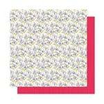 Papel Scrapbook WER298 30,5x30,5 Shimelle Flores Silvestres