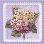 Papel ScrapDecor Simples Flores SDSXX-007 - Litoarte