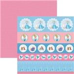 Papel Scrapfesta Disney Princesa Cinderela Selos e Tags Sdfd073 - Toke e Crie