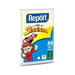Papel Sulfite A4 Amarelo com 100 Folhas Report