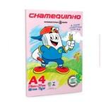 Papel Sulfite Chamequinho Rosa 75g A4 100 Folhas - 1 Pacote