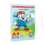 Papel Sulfite Chamequinho Verde 75g A4 100 Folhas - 1 Pacote