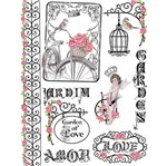 Papel Transfer 21,8x28,4 Garden Of Love Ptg-011 - Litoarte