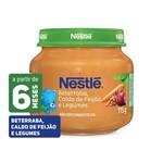 Papinha Nestlé Beterraba, Caldo de Feijão e Legumes 115g