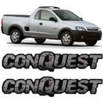 Par Adesivo Resinado Conquest Montana 2003 2004 2005 2006 2007 2008 2009 2010