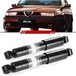 Par Amortecedor Traseiro Alfa Romeo 145 1.8 2.0 155 2.0 16V 1995 a 1999 Quadrifoglio