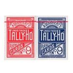 Par Baralho Tally-Ho Standard Cor Azul e Vermelho
