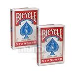 Par Baralhos Bicycle Standard Index Cor Vermelho