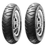 Par de Pneu Pirelli 3.50-10 Sl 26 Burgman 125 Smart 125