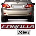 Par Emblema do Porta Malas - Corolla XEi 2009 a 2018