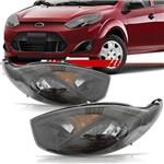Par Farol Ford Fiesta 2011 2012 2013 2014 Máscara Negra