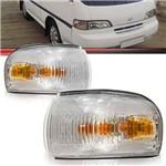 Par Lanterna Dianteira Pisca Seta Hyundai H-100 1993 1994 1995 1996