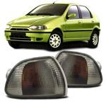 Par Lanterna Dianteira Pisca Seta Palio Siena Strada G1 1996 a 2000 Fumê - Acrilux
