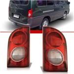 Par Lanterna Traseira Hyundai H100 1997 1998 1999 2000 2001 2002 2003 2004 2005 Bicolor
