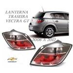 Par Lanterna Traseira Vectra GT GTX 2009 Fumê