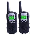 Par Radio Comunicador Walk Talk Baofeng