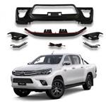 Para-choque Dianteiro Toyota Hilux Modelo TRD 2016 a 2018 PCQ.63.358.SPT PCQ63358SPT