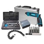 Parafusadeira 2 Bateria Makita Df010dsex 220v + Kit Soquete