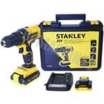 Parafusadeira / Furadeira 20V 220V - SCD20C2K Stanley