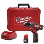 """Parafusadeira/Furadeira de Impacto a Bateria 3/8"""" 12V - Milwaukee 220V"""